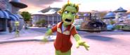 Lem Angry on Skiff