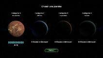 Les 4 planètes