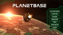 Demarrage planete base
