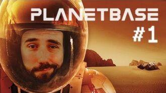 """PLANETBASE """"Seul sur MARS le jeu vidéo"""" GAMEPLAY FR"""