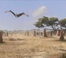 Jurassic pterosaur