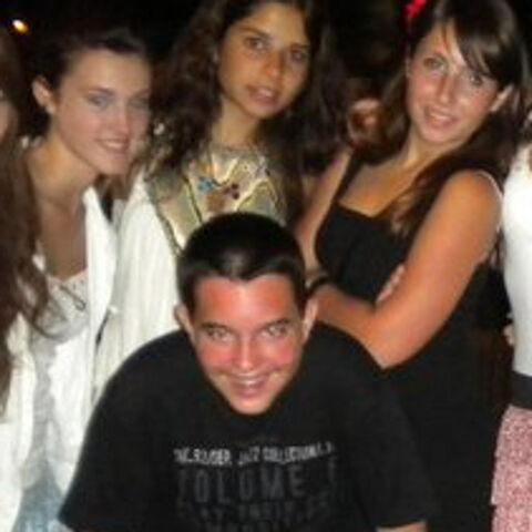 Андреа с Юсмой, Мартой и другой девушкой.