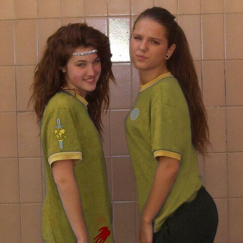 Сандра и Андреа.