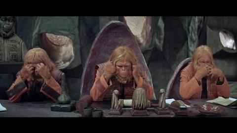 Planet of the Apes (1968) Trial scene part 4 4