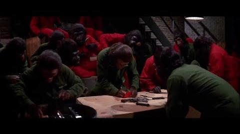 Conquest of the Planet of the Apes (1972) Caesar builds the revolution part 7