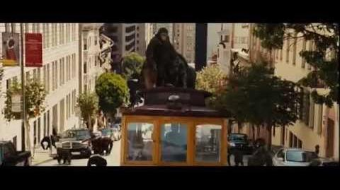 RISE OF THE PLANET OF THE APES Apes Take Over San Fransisco