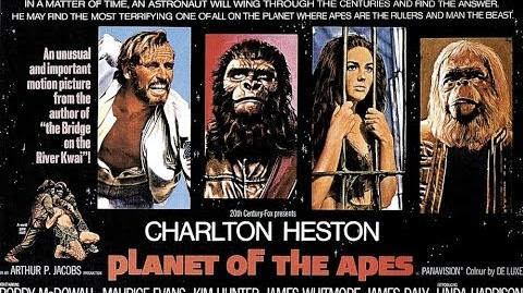 Planet of the Apes 1968 Opening Scene