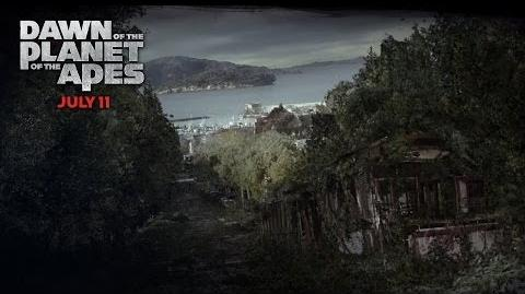 Dawn of the Planet of the Apes San Francisco Deterioration 20th Century FOX