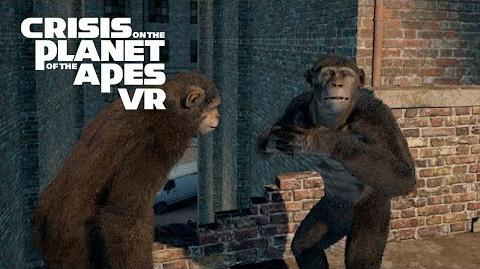 Crisis on the Planet of the Apes VR Available Now FoxNext