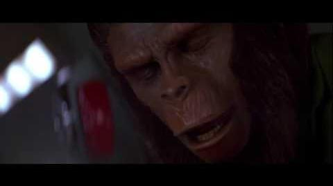 Conquest of the Planet of the Apes (1972) Caesar reveals himself to MacDonald
