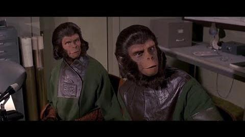 Escape from the Planet of the Apes (1971) How Apes rose part 3 5