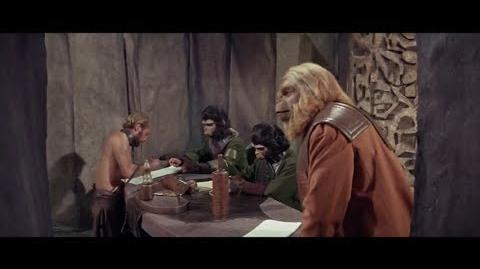 Planet of the Apes (1968) Trial scene part 2 4