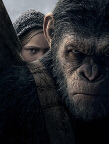 War for the Planet of the Apes textless poster
