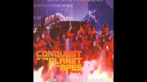 Conquest of the Planet of the Apes - Tom Scott