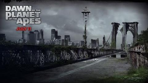 Dawn of the Planet of the Apes New York Deterioration 20th Century FOX