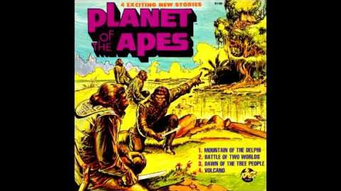Power Records - Planet Of The Apes - Battle Of Two Worlds - Audio Drama