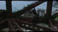 Apes travel through Golden Gate Bridge