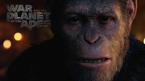 War for the Planet of the Apes Face Of Caesar 20th Century FOX