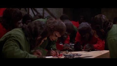 Conquest of the Planet of the Apes (1972) Caesar builds the revolution part 6