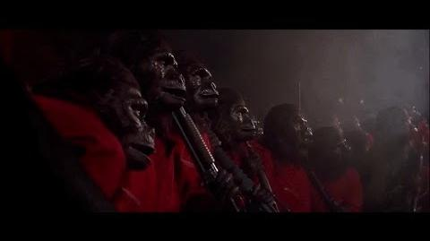 "Conquest of the Planet of the Apes (1972) Caesar's speech ""Where there is fire"" part 4 5"