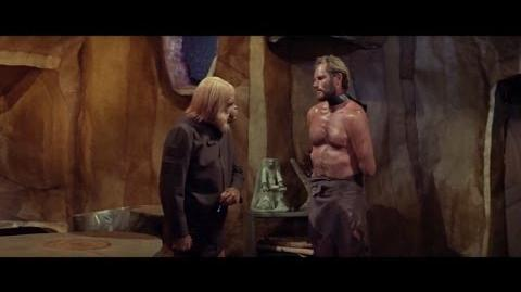 Planet of the Apes (1968) Taylor talks with Dr. Zaius