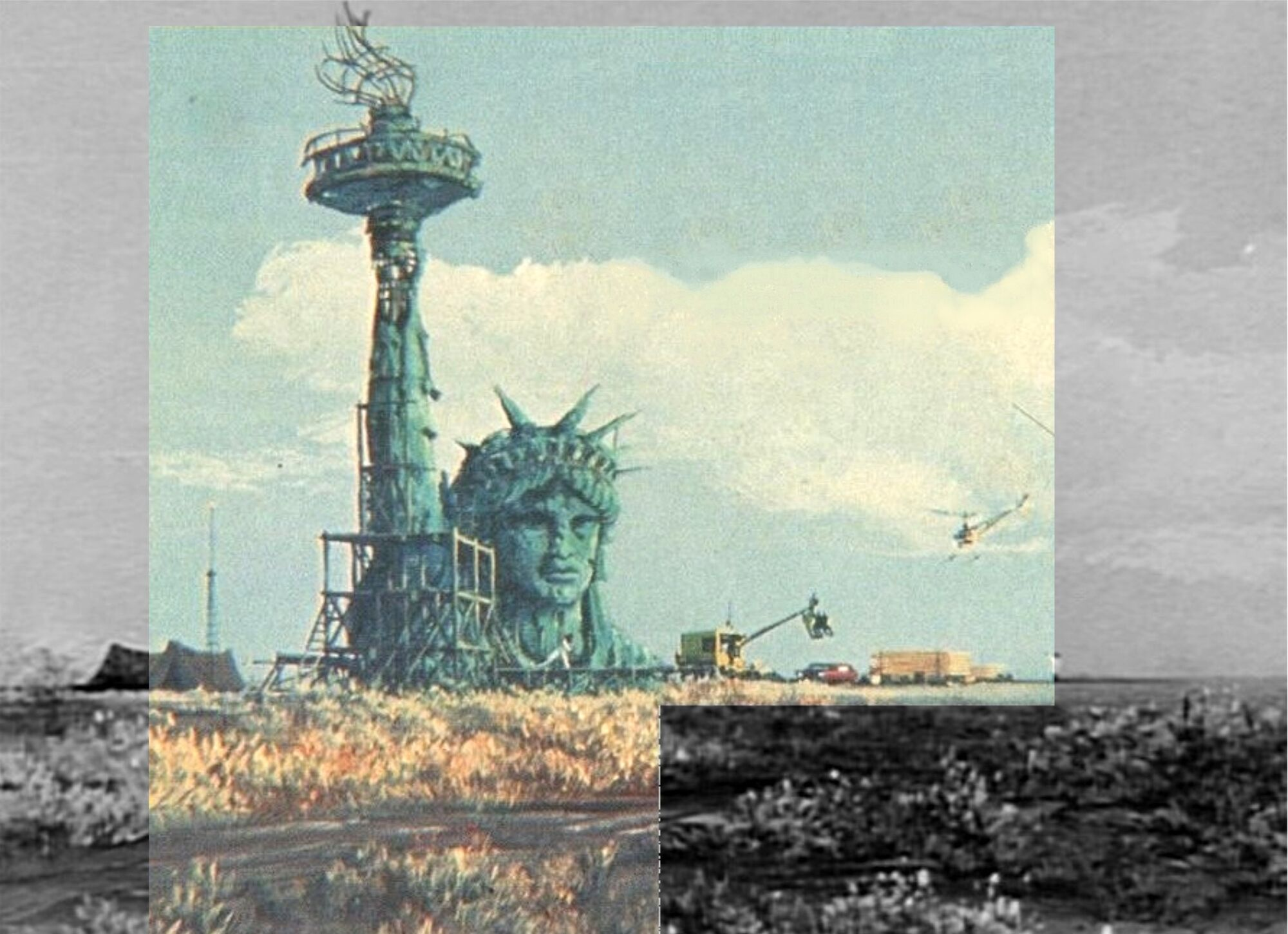 Statue Of Liberty Planet Of The Apes Wiki Fandom Powered By Wikia