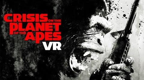 Crisis on the Planet of the Apes VR Announce Teaser Trailer (Actual VR Game Footage) FoxNext