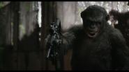 Koba with machine gun