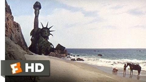 Planet of the Apes (5 5) Movie CLIP - Statue of Liberty (1968) HD