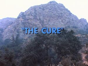 The Cure title card