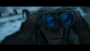 WPOTA Bad Ape with binoculars
