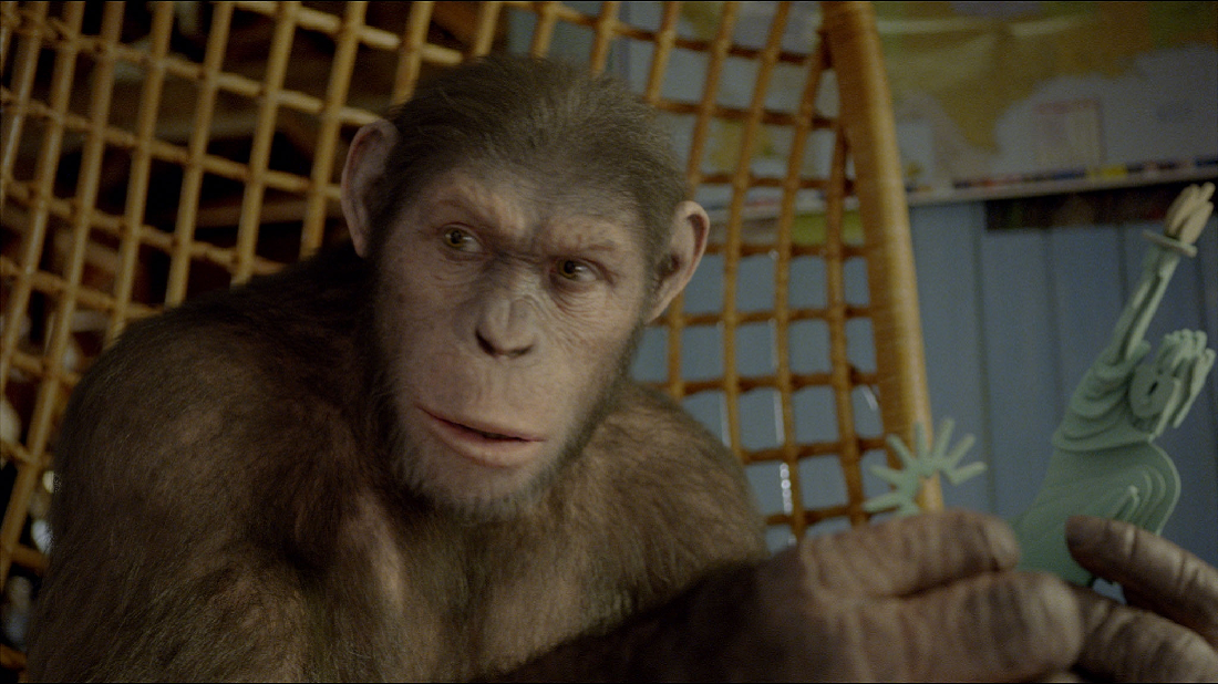 Young Caesar Rise Of The Planet Of The Apes