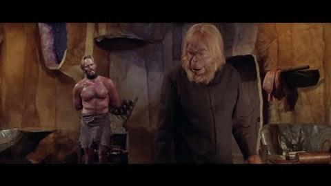 Planet of the Apes (1968) Taylor talks with Dr. Zaius part 2 2