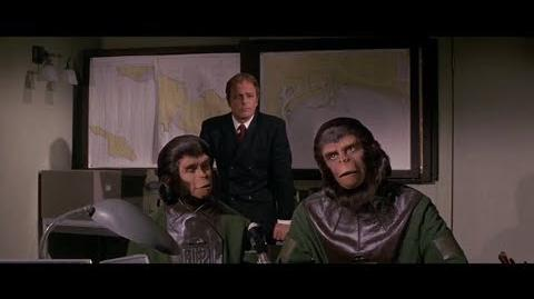 Escape from the Planet of the Apes (1971) How Apes rose part 4 5