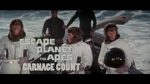 How Many Kills in Escape from the Planet of the Apes (1971)