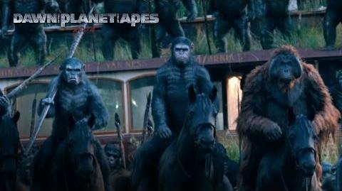 Dawn of the Planet of the Apes TV Spot HD 20th Century FOX