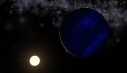 Planet Epsilon Tauri b