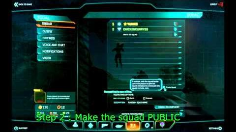 Planetside 2 Step by Step guide for platoon making