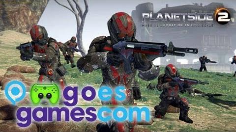 PietSmiet goes gamescom 2012 Deutsch Full-HD - Planetside 2