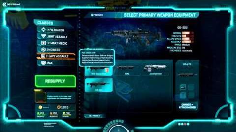Planetside 2 Basic Training Weapon Instruction