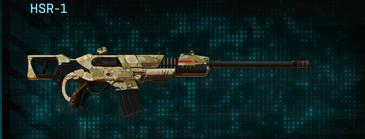 Sandy scrub scout rifle hsr-1