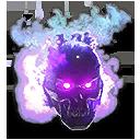 Violet Inferno Skull VS Helmet