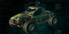 Temperate chaparral harasser