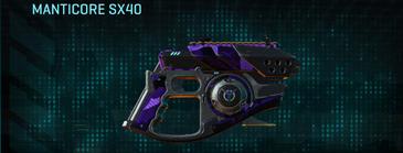 Vs alpha squad pistol manticore sx40