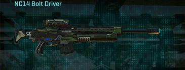Amerish leaf sniper rifle nc14 bolt driver