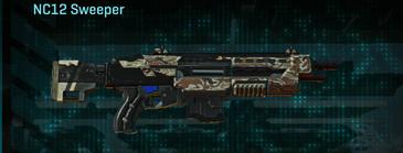 Arid forest shotgun nc12 sweeper