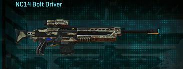 Arid forest sniper rifle nc14 bolt driver