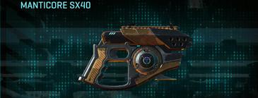 Indar plateau pistol manticore sx40