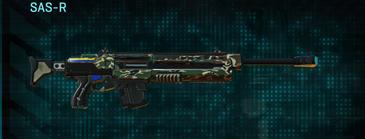 Scrub forest sniper rifle sas-r