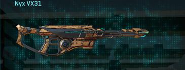 Indar canyons v1 scout rifle nyx vx31